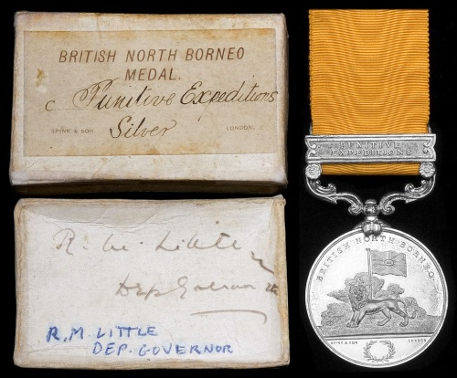Medal and cards