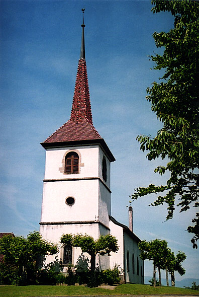 Bercher village church