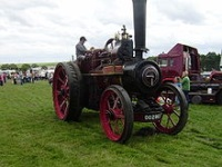 Ruston and Hornsby steam tractor